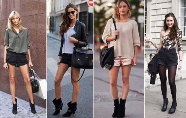 ankle-boots-com-shorts