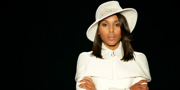 "SCANDAL - ABC's ""Scandal"" stars Kerry Washington as Olivia Pope. (Craig Sjodin/ABC via Getty Images)"