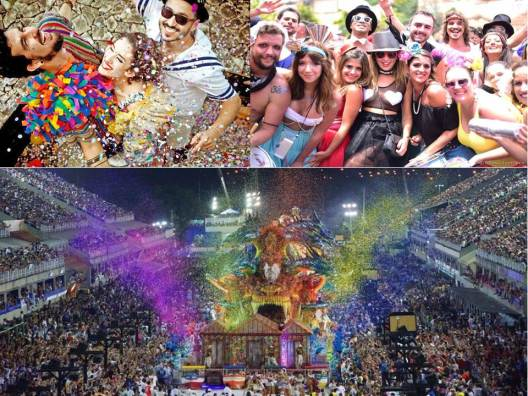 curtindo carnaval